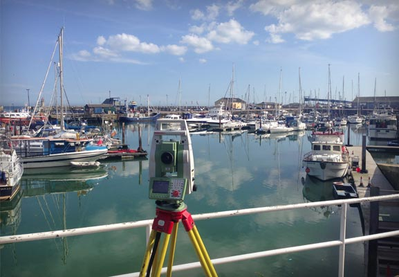 J C White Geomatics land surveying in Kent, London and South East England