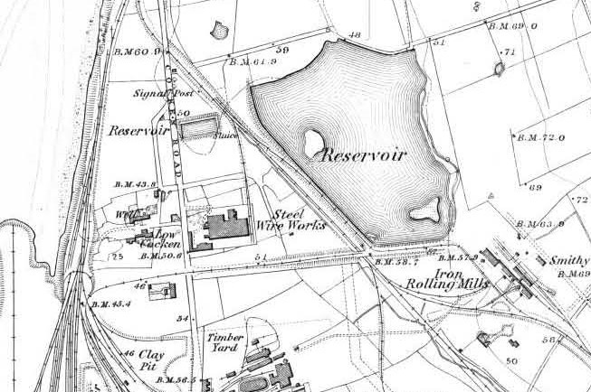 Example of historic Ordnance Survey mapping circa 1890 which can be used to aid boundary demarcation