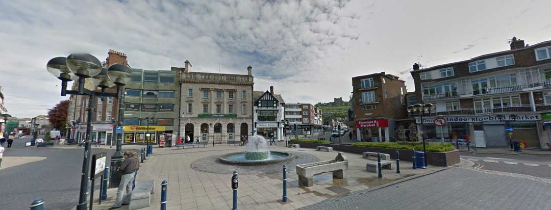 New Drone Pilot and Dover Town Centre Topographical Survey